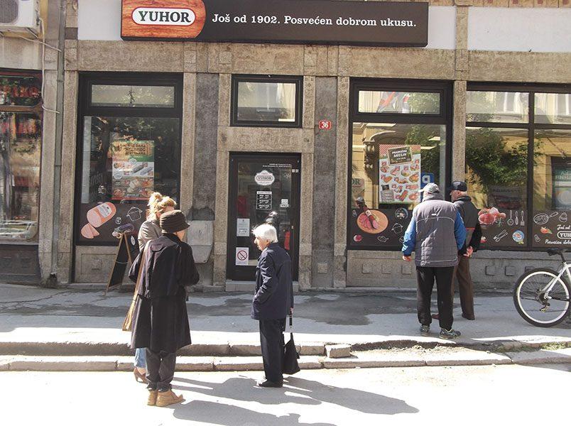 Prodavnica JUHOR