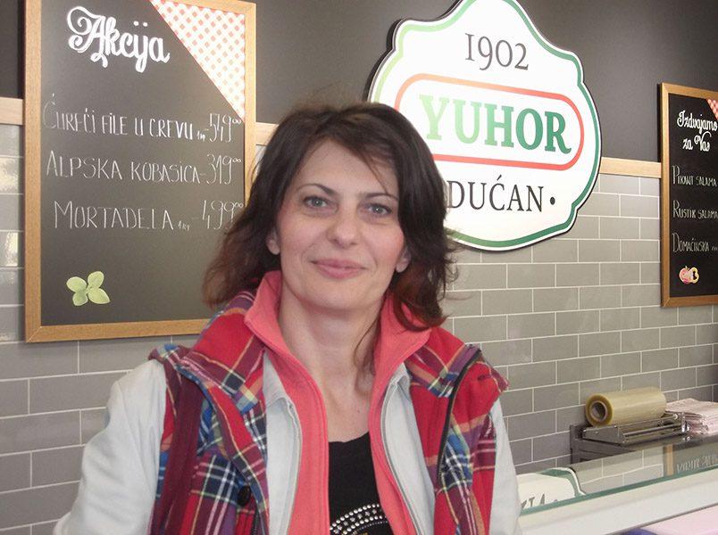 Tatjana Krstic predstavnica JUHOR-a