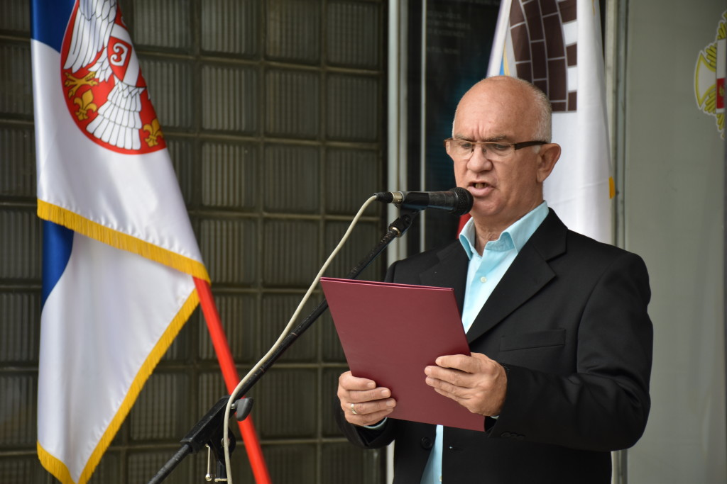 Pomen poginulima Jovica Pilipovic predsedik Udruyenje ratnh vojnih invalida