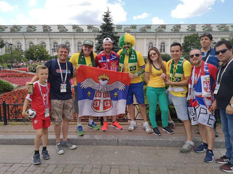 46 - 2 B Sa navijacima Brazila