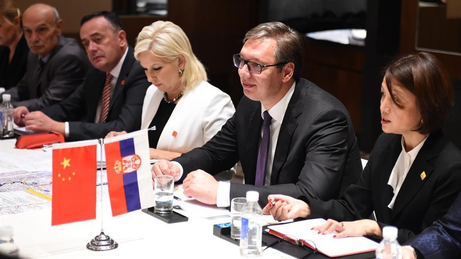Drzavna delegacija u Kini