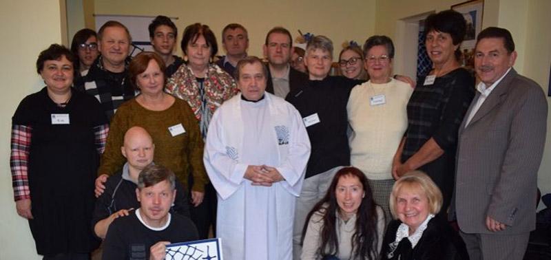 HÁLÓ bogozóinak évzáró találkozója a püspökségi caritas helységében
