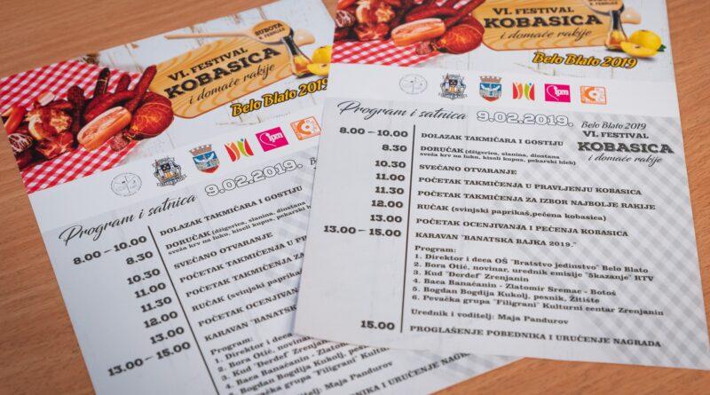 TRADICIONALNA MANIFESTACIJA U BELOM BLATU: Festival kobasice i domaće rakije šesti put