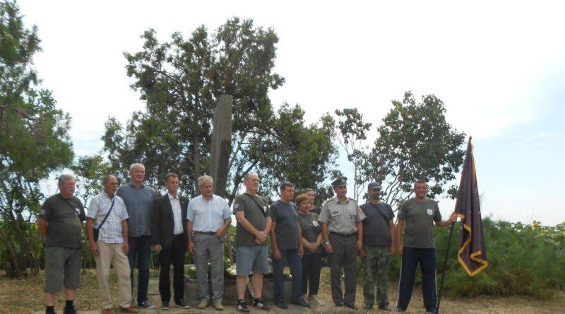 NA BOŠNJAKOVOM SALAŠU: Rezervne vojne starešine uredile spomen-kompleks