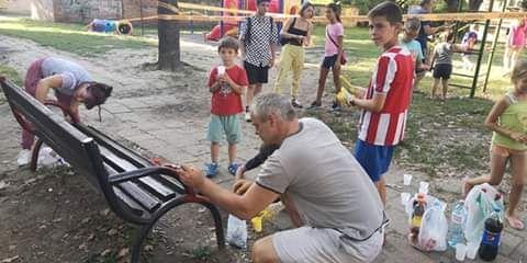 """U """"MALOJ AMERICI"""": Dečje igralište u novom sjaju"""
