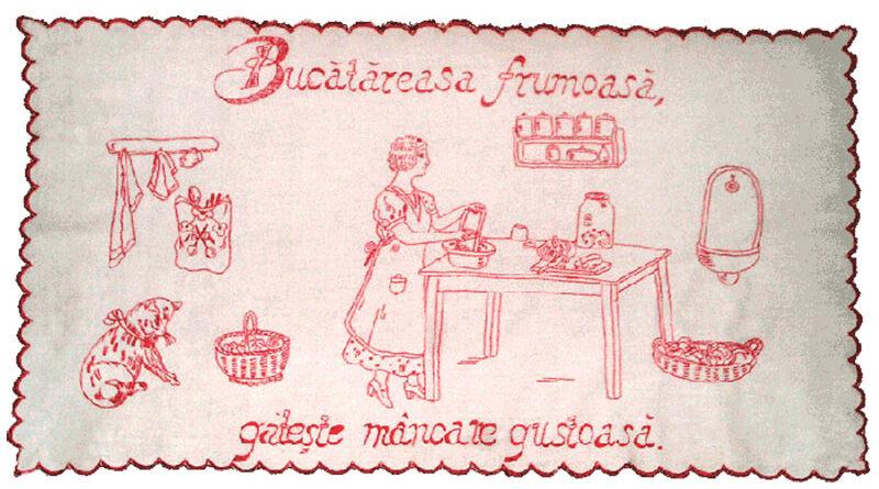 CUVĂRIŢE, PĂRETARE AU APĂRUT ATUNCI CÂND SE ÎNFIINŢEAZĂ BUCĂTĂRIA, LA SFÂRŞITUL SECOLULUI XIX-LEA