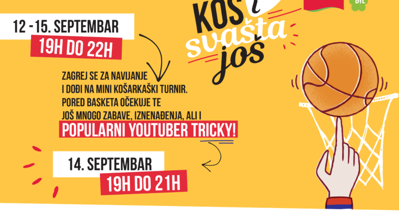 """PERSU"" ORGANIZUJE MINI-KOŠARKI TURNIR: Dolazi najbolji fristajl košarkaš Balkana"