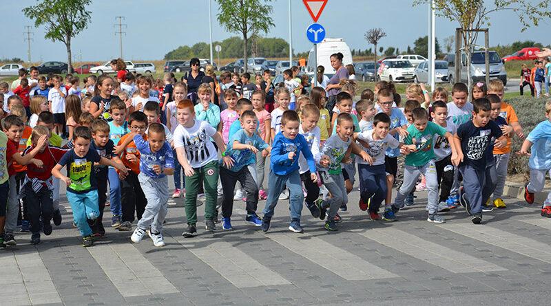 1-najmladji ucesnici na startu trke