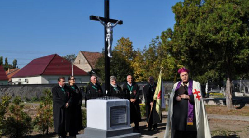 A nagybecskereki katolikus temetőben
