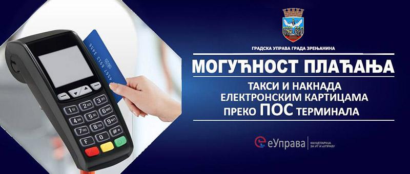 GRADSKA UPRAVA: Plaćanje poreza platnom karticom