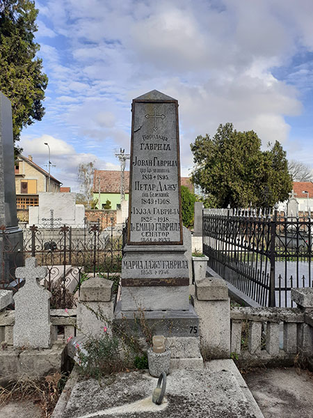 6-7-фотос2-Tomasevacko groblje - Grob Emila Gavrila