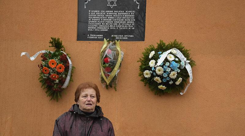 U ZRENJANINU OBELEŽEN MEĐUNARODNI DAN SEĆANjA NA ŽRTVE HOLOKAUSTA - 75 GODINA OD OSLOBOĐENJA AUŠVICA