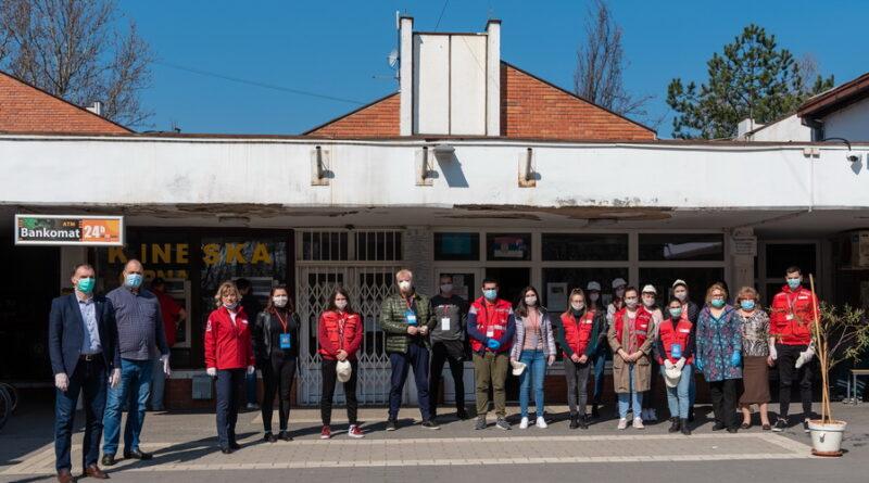 NA BAGLЈAŠU: Aktivisti i volonteri na nogama