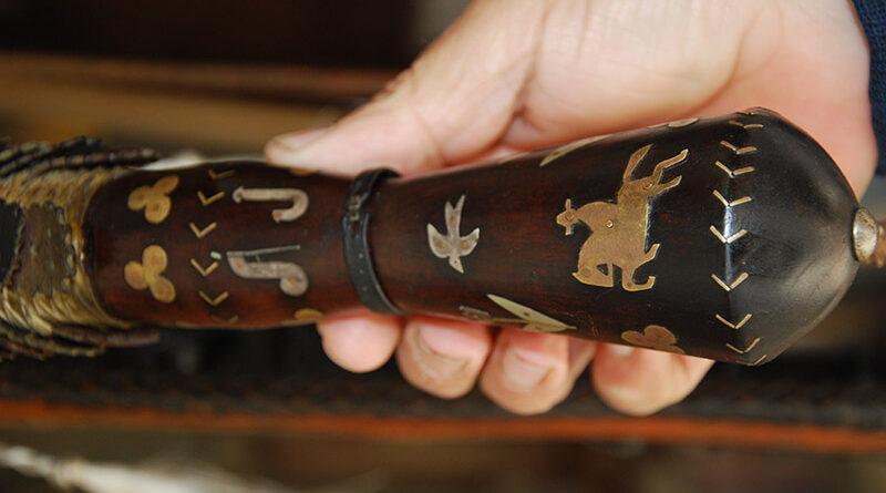 Látogatóban a muzslyai Mári Istvánnál egy igen régi és ritka mesterség művelőjénél