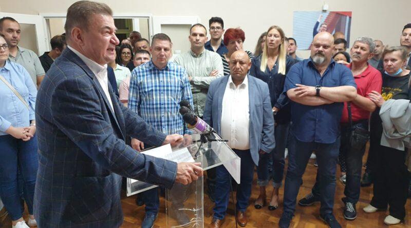GRADSKI ODBOR SNS-a: Pobeda uprkos divljačkoj kampanji protiv naših čelnika
