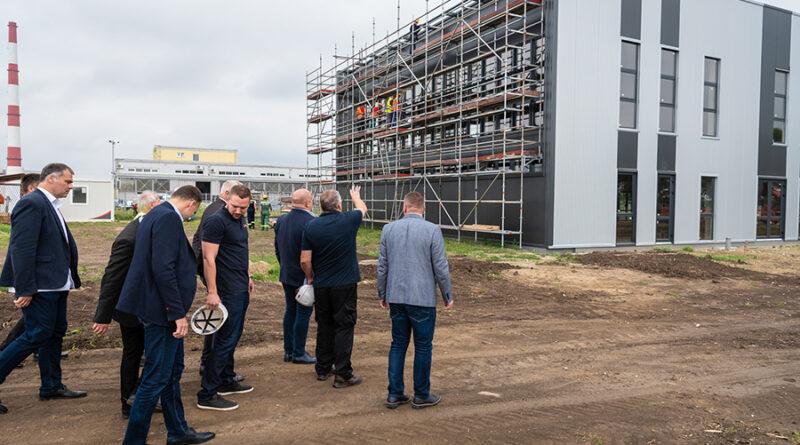 """INDUSTRIJSKA ZONA """"JUGOISTOK"""": Kompanija """"Mera"""" gradi proizvodnu halu"""