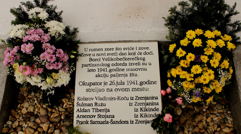 POVODOM GODIŠNJICE STRELJANJA RODOLJUBA NA BOŠNJAKOVOM SALAŠU: Položeno cveće na obnovljen spomenik