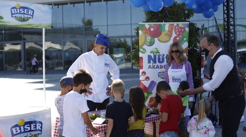"""MALIŠANI NA RADIONICI """"BISER NUTRI AKADEMIJE"""": Kroz igru učili o zdravoj ishrani"""