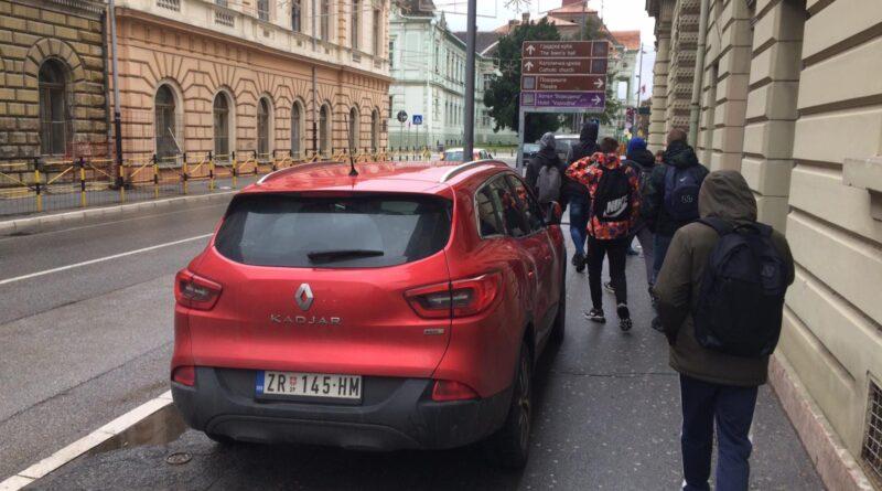 CENTAR GRADA: Omiljeno mesto za parkiranje