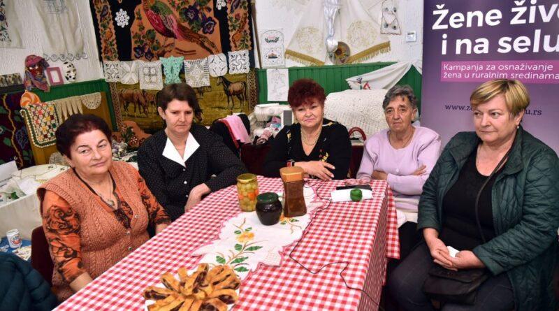 ALEKSANDROVO: Žene žive i na selu