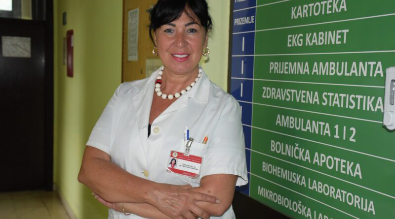 """DR SVETLANA JOVANOVIĆ, DIREKTORKA SPECIJALNE BOLNICE ZA PLUĆNE BOLESTI """"DR VASA SAVIĆ"""" U ZRENJANINU"""