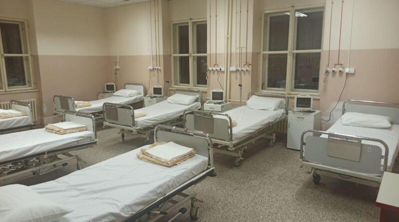 U ZGRADI STARE HIRURGIJE OPŠTE BOLNICE: 85 postelja sa kiseonikom