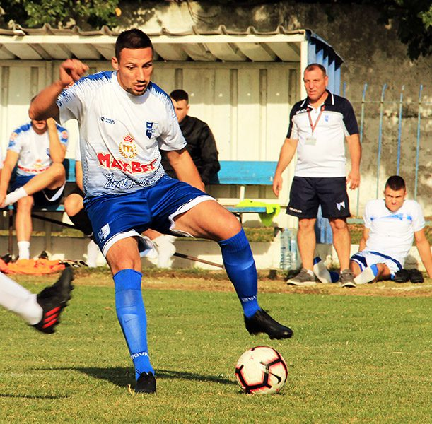 46 - 1 A Fudbal Vojvodjanska liga Najbolji strelac Miljan Milivojev (Naftagas)