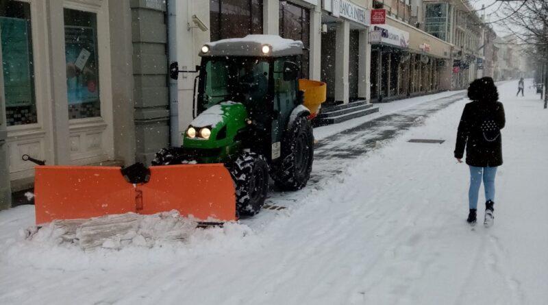 """JKP """"ČISTOĆA I ZELENILO"""": Zimska služba na terenu"""