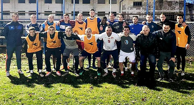 46 - 2 FUDBAL Omladinac FAM na prvom treningu Foto FK Omladinac FAM
