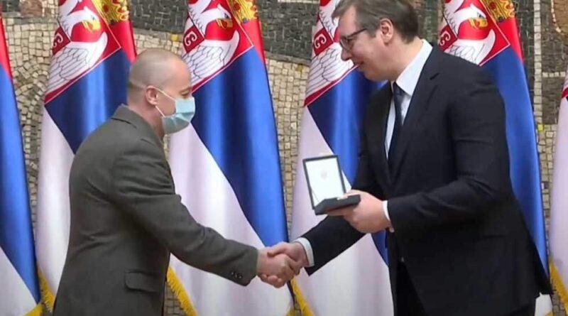 PRIJEM U GRADSKOJ KUĆI: Zlatna medalja dr Stevanovica čast i  za zdravstvo i za Grad Zrenjanin
