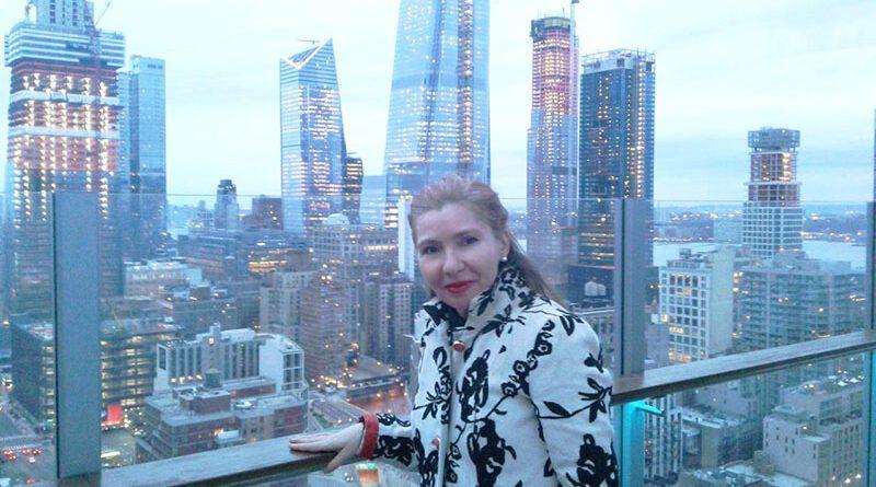 DR MILENA POPOV, UMETNICA BEZ GRANICA, PROFESORKA NA UNIVERZITETU GRADA NJUJORKA