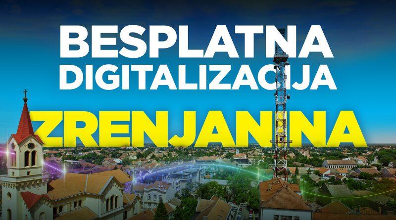 SBB NASTAVLJA DA ŠIRI SVOJU GIGA MREŽU: Počinje besplatna digitalizacija Zrenjanina