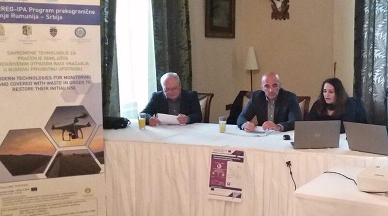 """Conferința finală a proiectului """"Tehnologii moderne pentru monitorizarea terenurilor sub deșeuri"""""""