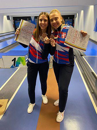 37 - 1 B KUGLANJE TANDEM Kristina Ljubenkovic i Milena Jurisic