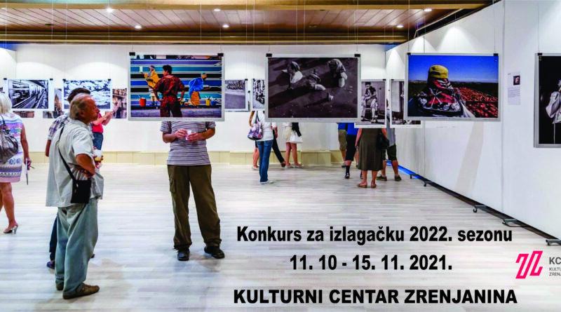 OTVOREN KONKURS ZA IZLAGAČKU 2022. GODINU: Rok za prijave 15. novembar