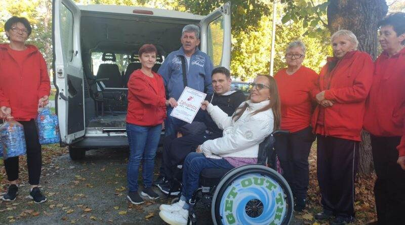HUMANE ŽENE IZ KRAJIŠNIKA: Saradnja sa Udruženjem paraplegičara  Banata